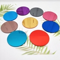 廠家直銷亞克力手機支架裝飾彩色鏡 1