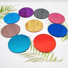 厂家直销亚克力手机支架装饰彩色镜