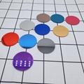廠家直銷亞克力手機支架裝飾彩色鏡 5