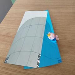 廠家直銷PET片材透明無色塑料片優質環保透明帶雙膜