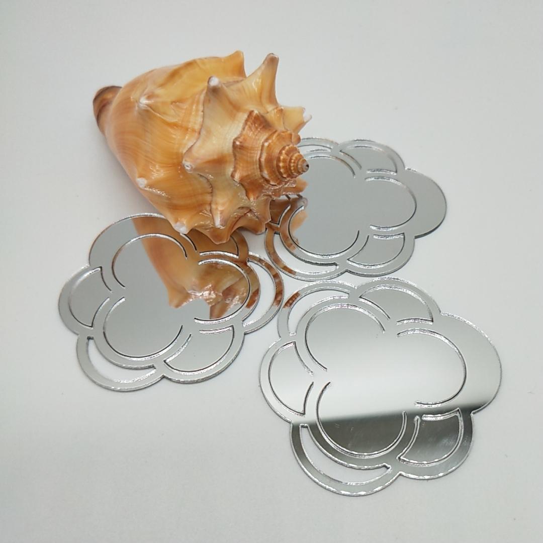 廠家直銷PMMA銀色自粘鏡片亞克力反光鏡片加工定製 3