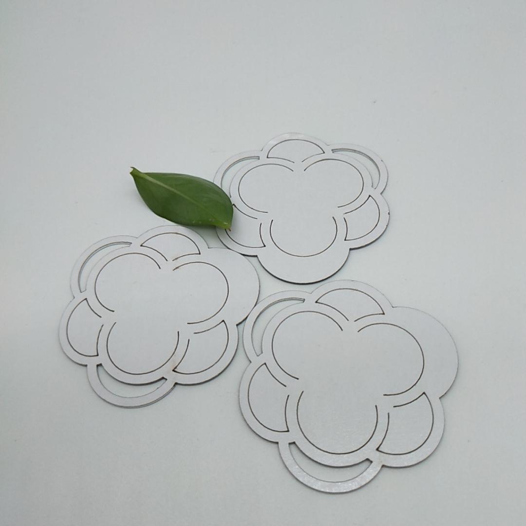 廠家直銷PMMA銀色自粘鏡片亞克力反光鏡片加工定製 4