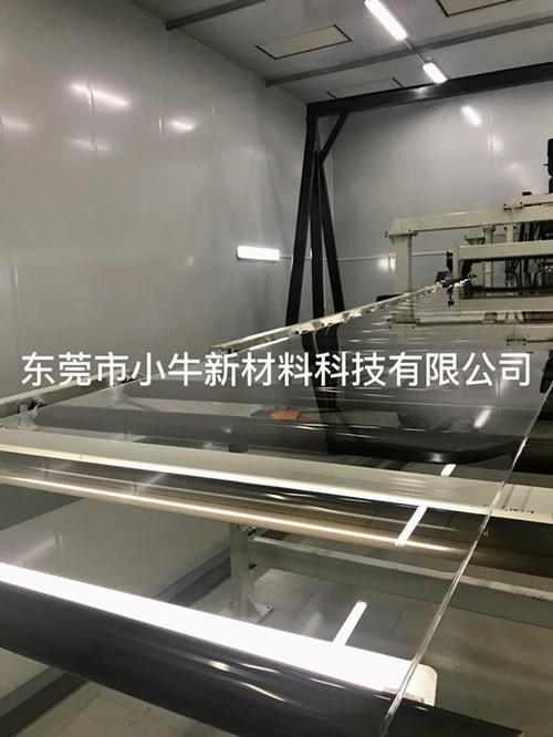 厂家直销亚克力板挤出工艺透明PMMA有机玻璃板 2