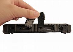 豪盾条码指纹扫描带有限网口串口FHD屏4G或8G+128G10.1寸三防平板
