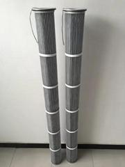 2米防靜電除塵濾芯3266噴砂機除塵濾芯