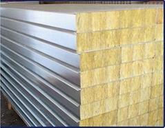 岩棉淨化彩鋼復合板