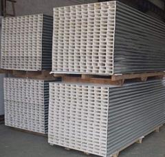 中空玻鎂淨化彩鋼復合板