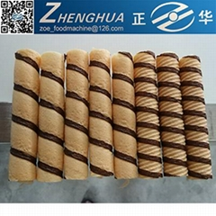 Shanghai wafer stick egg roll production line