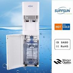 bottle bottom loading water dispenser