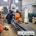 數控不鏽鋼楔形絲篩網焊接機 2