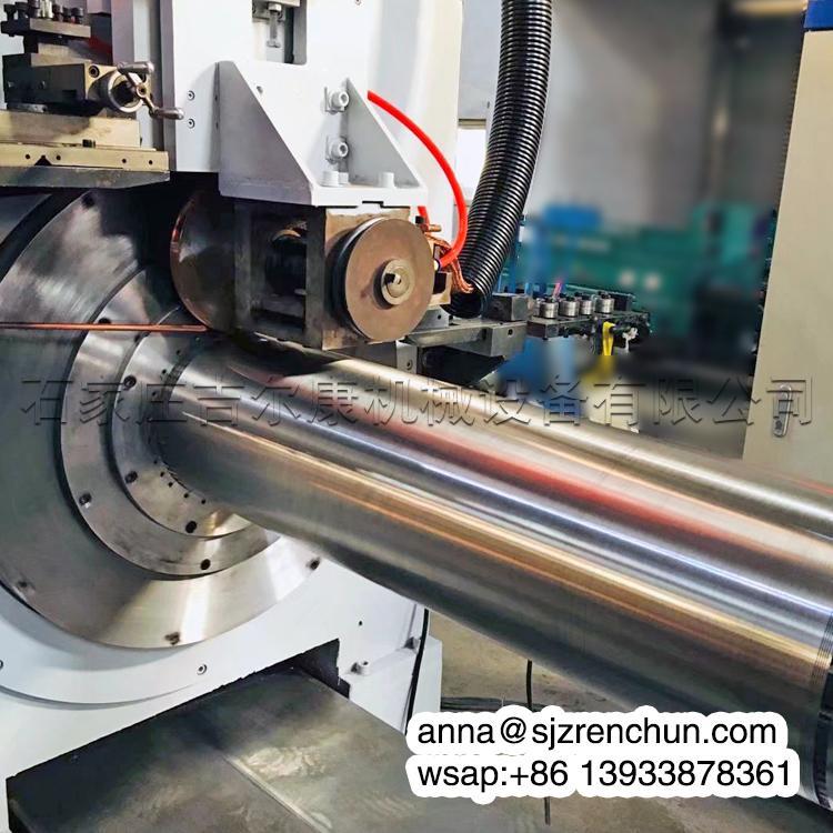 數控不鏽鋼楔形絲約翰遜篩網焊接機 1