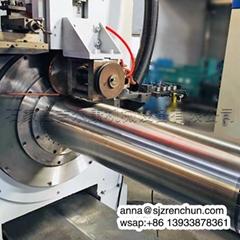數控不鏽鋼楔形絲約翰遜篩網焊接機