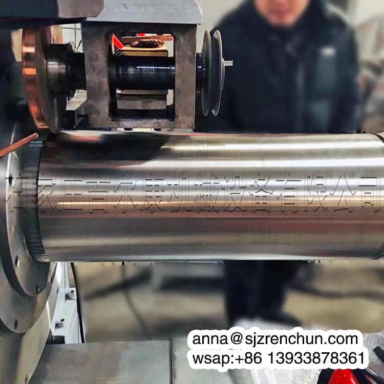 數控不鏽鋼楔形絲約翰遜篩網焊接機 3