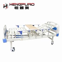 medical furniture manual adjustable home care bed for elderly