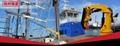 出口船用液壓吊廠家直銷10米吊1噸船用液壓起重機 1