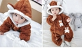 Fashion baby one piece jumpsuit clothes