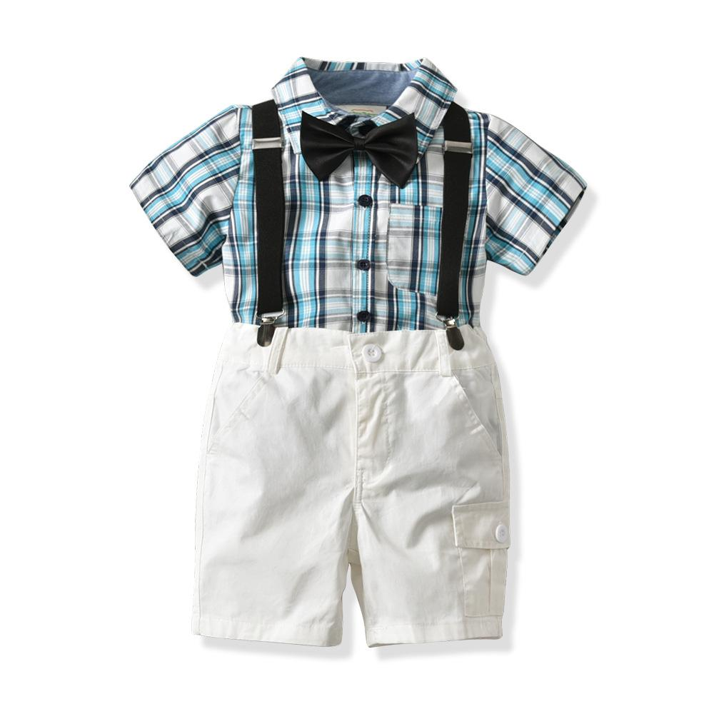 Fashion baby boy clothes sets toddler boy outfits suits 1
