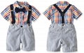 Fashion baby boy clothes sets toddler boy outfits suits 3