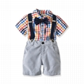 Fashion baby boy clothes sets toddler boy outfits suits 5