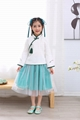 Cheap hot sale girl Tang suits children