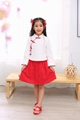 Cheap hot sale girl Tang suits Chinese