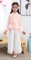 Wholesale girl chiffon summer Tang suits