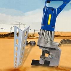 廠家直銷手提式液壓鋼板沖孔機