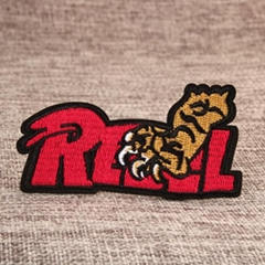 Claw Custom Embroidered Patches No Minimum