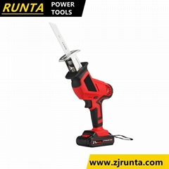 High Quality 18V /20V Li-ion Cordless Reciprocating Saw Garden Tools