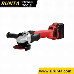 Power Tools Cordless Angle Grinder for Cutting and Polish (rt100-4)