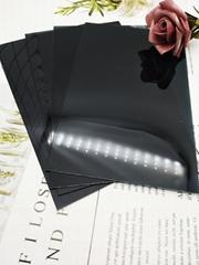 廠家直銷供應PC茶色半透鏡片 手電筒PC透明鏡片定製