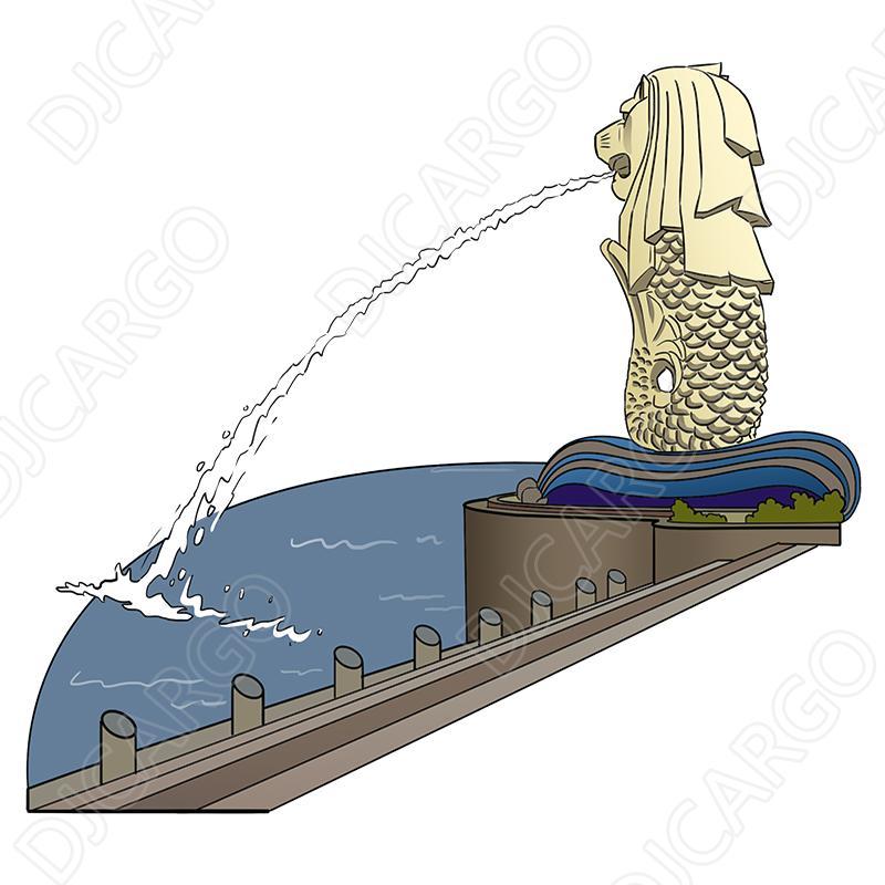 广州海运货架摆设架到新加坡的双清到门服务 4