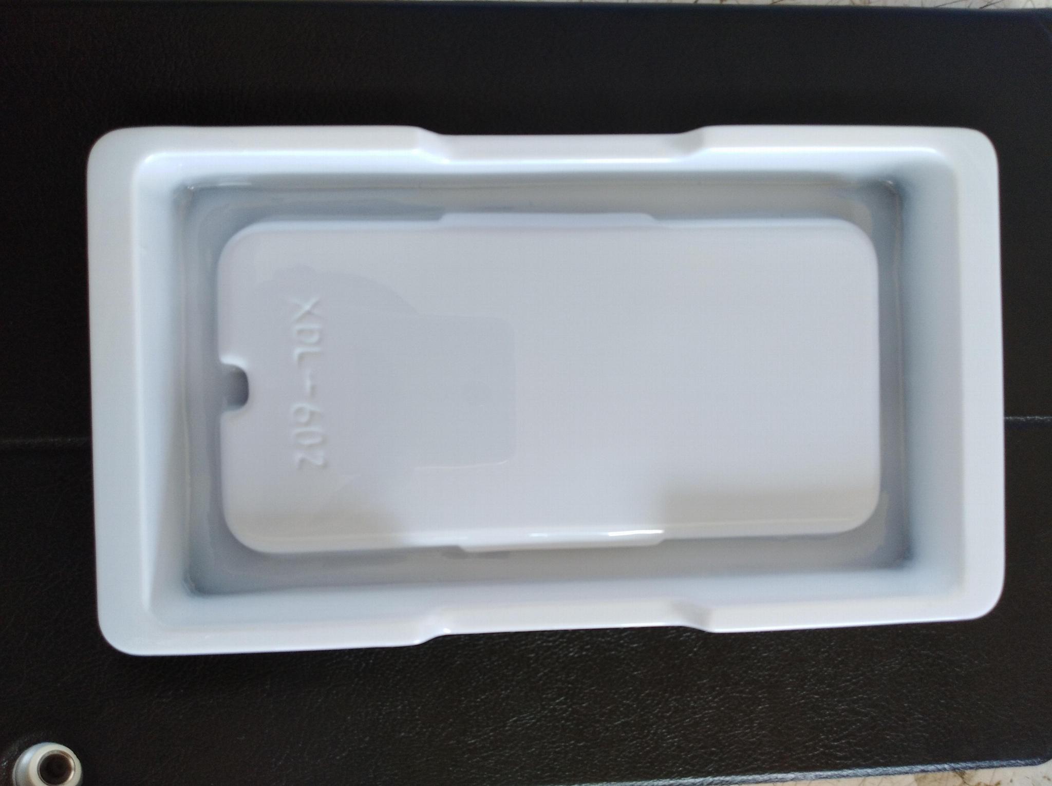 5.8寸手机保护壳通用包装吸塑盒生产 1