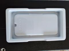 5.8寸手机保护壳通用包装吸塑盒生产