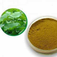 Lotus leaf alkali