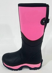 Neoprene boots Handmade of natural rubber high quality 100 percent Water poof