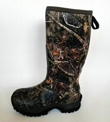 Hunting boots Handmade of natural rubber Waterproof Neoprene lining EVA RUBBER o