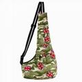Pet Puppy Cat Carrier Bag Canvas Sling Dog Cat Carrier Single Shoulder Bag