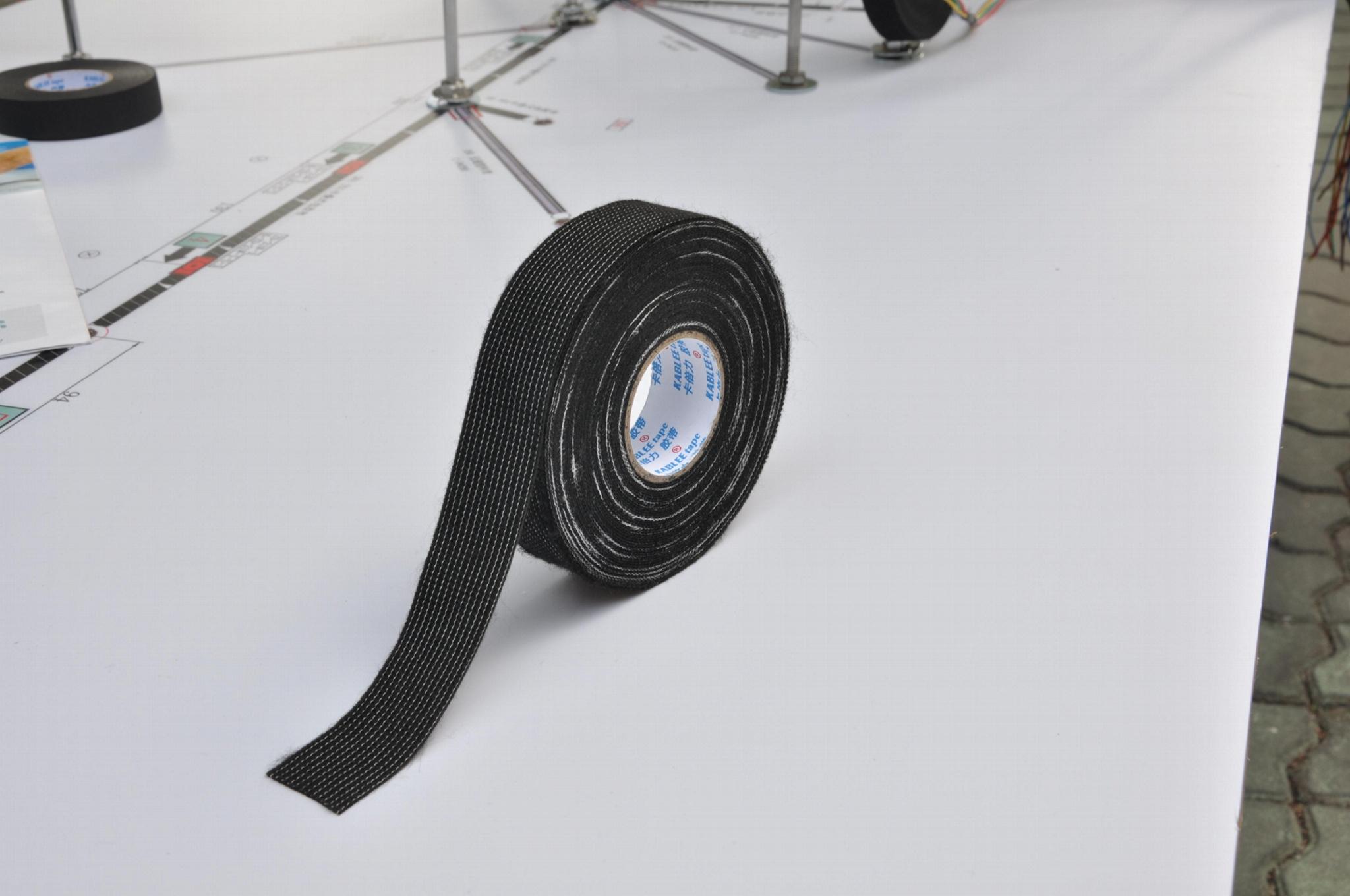 駕駛艙線束膠帶可手撕的厚絨膠帶 2