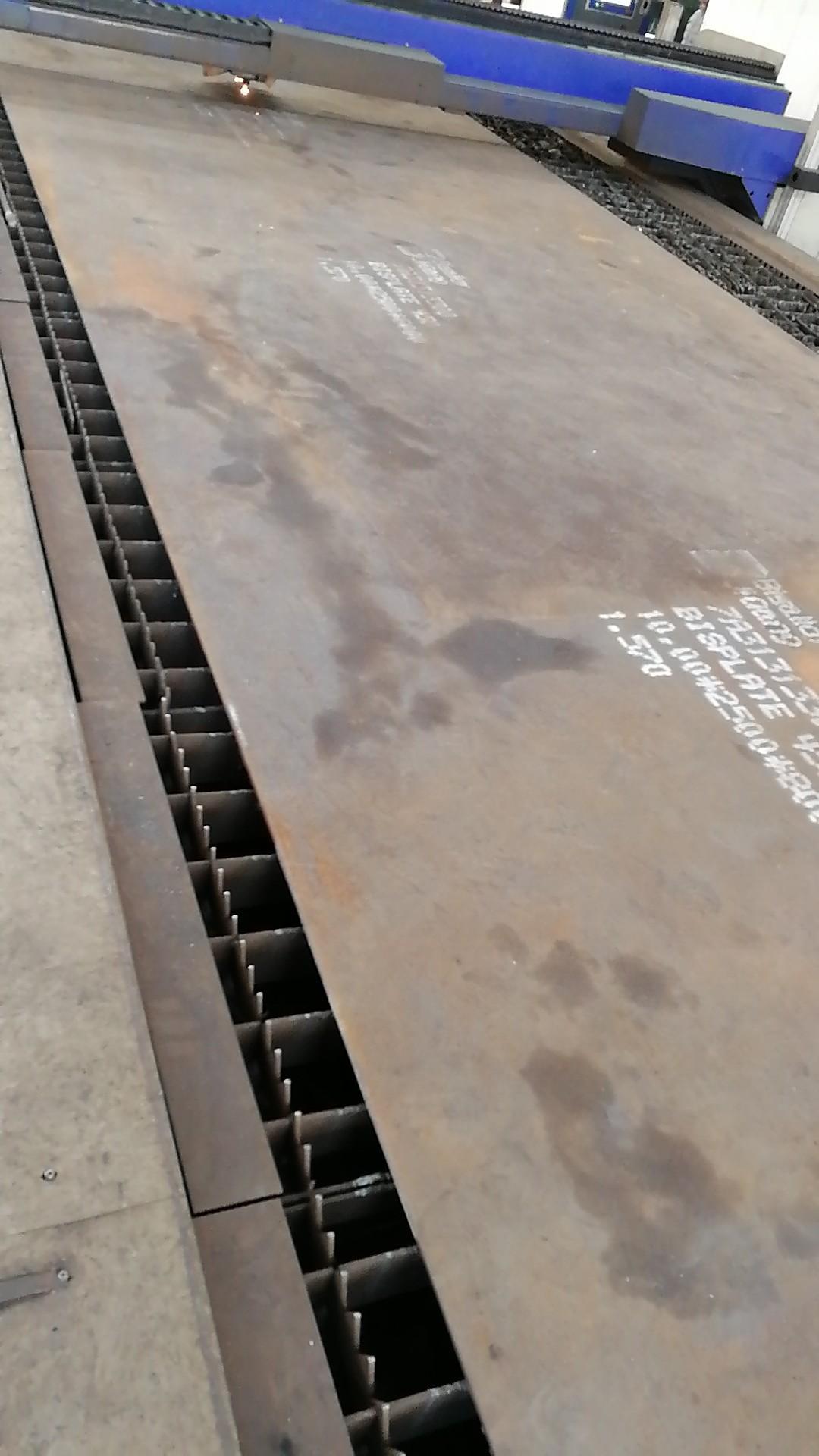 Wear-resistant steel parts 7