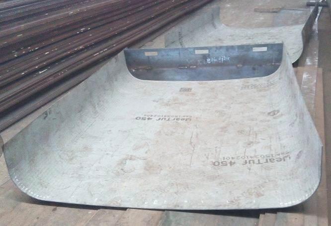 耐磨钢备件定制 12