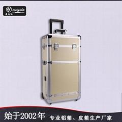 廠家定製美容美髮拉杆箱大容量商務旅行箱多功能化妝箱