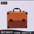 皮革手提PU化妝箱雙開盤珠寶盒大容量多層首飾盒 3