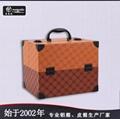 皮革手提PU化妝箱雙開盤珠寶盒大容量多層首飾盒 4