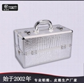 廠家直銷高品質PU皮化妝首飾箱