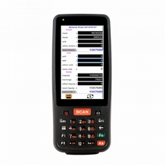Long standby handheld mobile 4G android laser barcode scanner terminal for logis