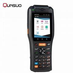 Handheld Android PDA 3505 Data Terminal With Thermal Printer