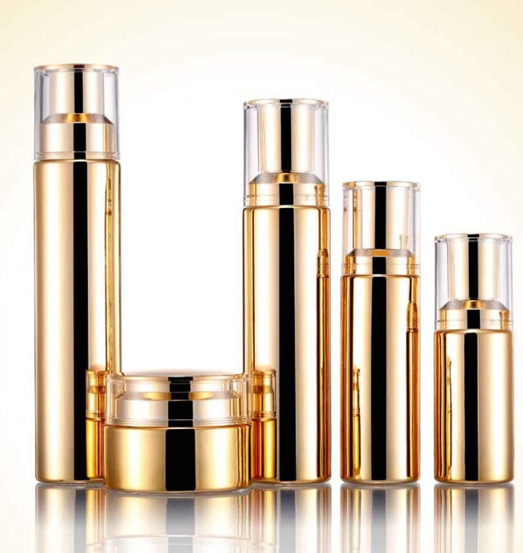 High quality Lotion glass Bottle Cosmetics Cream Empty Jar 2