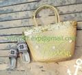 selling sea grass handwoven fashion bag 4