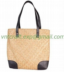 STRAW BAG FROM BAG